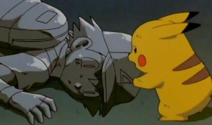 muerte ash con pikachu pokemon